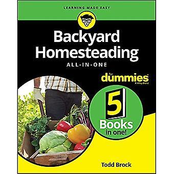 Backyard Homesteading todo-en-uno para Dummies