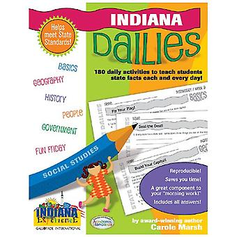 Indiana Dailies - 180 Daily Activities for Kids by Carole Marsh - 9780