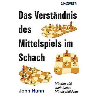 Das Verstandnis Des Mittelspiels Im Schach by John Nunn - 97819064543
