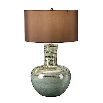 Elstead-1 LightTable lampe-grønn finish-BARNSBURY/TL