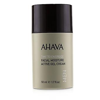 Ahava Time To Energize Facial Moisture Active Gel Cream - 50ml/1.7oz