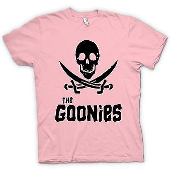 Womens T-shirt-Skull und Schwertern