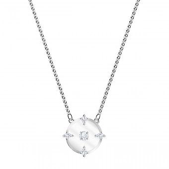 Swarovski necklace and pendant 5497232 - Timeless M tal Givr Pav effect of women's colourless crystals