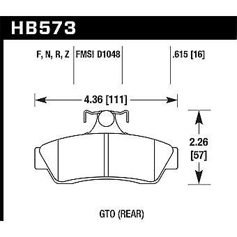 Hawk performance HB573Z. 615 PC