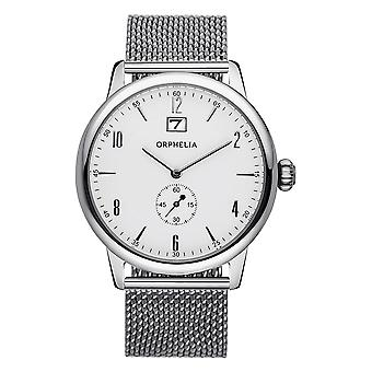 ORPHELIA Mens Analogue Watch Vintage Silver Stainless acciaio 122-7706-18