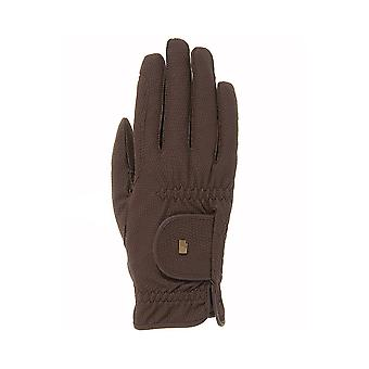 Roeckl Roeck-grip (chester) Horse Riding Gloves - Mocha