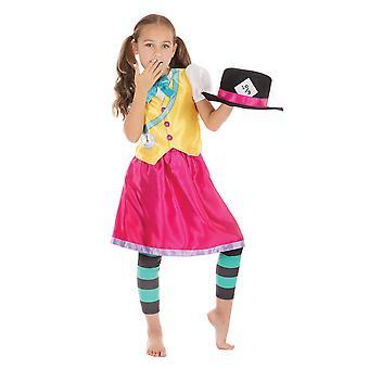 Bristol novinka děti/dívky šílený Hatter dívčí kostým