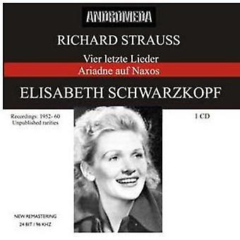 Richard Strauss - importación de USA de Elisabeth Schwarzkopf Soprano [CD]