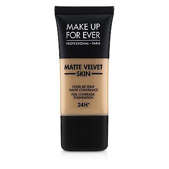 Make Up For Ever Matte Velvet Skin Full Coverage Foundation - # R330 (warm Ivory) - 30ml/1oz