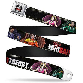 Cinturón de seguridad - La teoría del Big Bang - V.15 Adj 24-38' Malla Nueva bbta-wbbt019