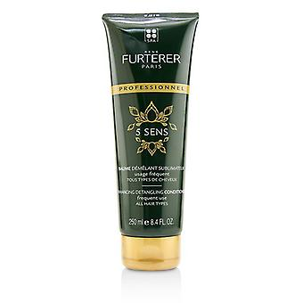 Rene Furterer 5 Sens Enhancing Detangling Conditioner - Frequent Use, All Hair Types (Salon Product) 250ml/8.45oz