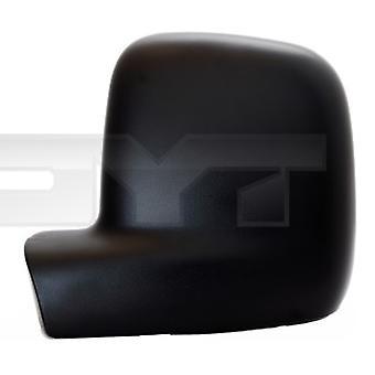 Cubierta del espejo izquierdo (negro granulado) para VW TRANSPORTER mk5 Bus 2003-2010