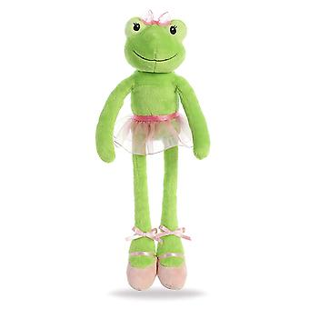 Aurora World Inc. 8883 Aurora World Hoppy Ballerina Frog Toy, Vert