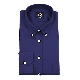 Thomas mason royal oxford navy marine shirt