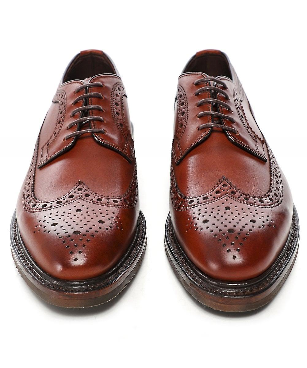 Loake Leather Birkdale Derby brogues