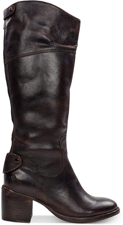 Patricia Nash kvinners Loretta Lær lukket tå mote knehøye Boots