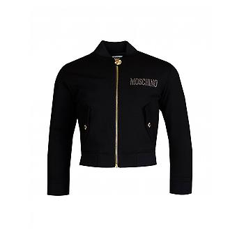 Moschino Toy Bear Diamante bomber jacka