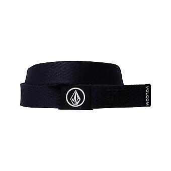 Volcom Circle Web Webbing Belt in Navy