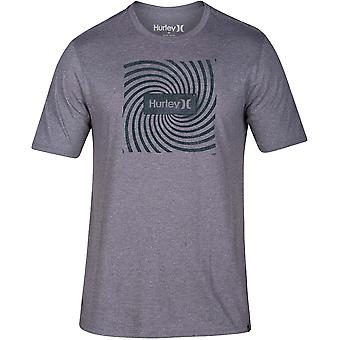 Hurley Siro Abyss kortärmad T-shirt i mörkgrå HTR
