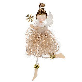20cm Ballerina Angel Hanging Christmas Tree Ornament