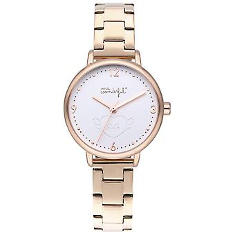 Mr wonderful shine and smile Watch for Women Analog Quartz with Stainless Steel Bracelet WR15000