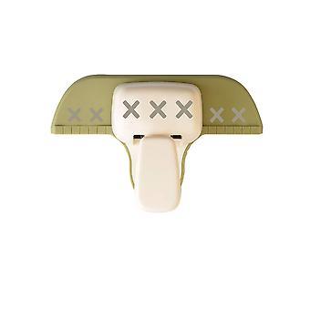 Vaessen Creative Border Craft Cross 2 Punches, Plastic/Steel, White