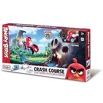 Angry Birds Crash Course Stunt Track Avec Crasher Véhicule