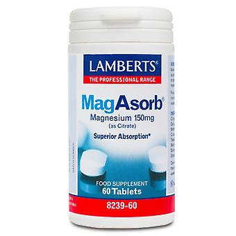 Lamberts MagAsorb 150mg Tabletit 60