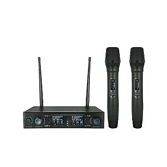 W Audio Dm800h Twin Handheld Uhf Mic Système