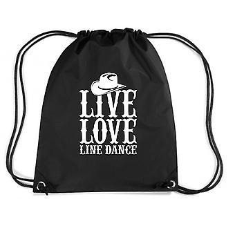 Black backpack gen0277 live love