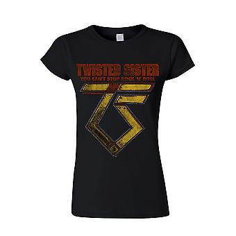 Twisted Sister You can ' t stop Rock ́n ́ Roll T-Shirt, women