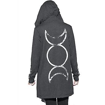 Blackcraft Cult Triple Moon Cardigan
