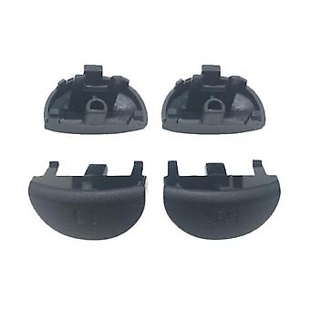 Compatible replacement l1 r1 buttons set for second generation v2 jdm-030 sony ps4 controller - black