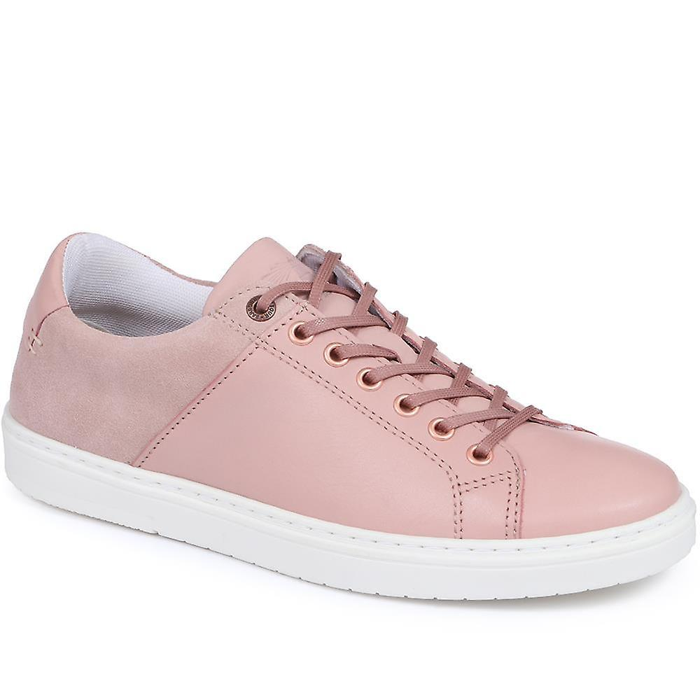 Catlina leather lace-up trainer - barbr