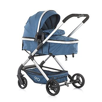 Chipolino combination stroller Noma 2 in 1 sunroof foot cover spring-loaded wheels