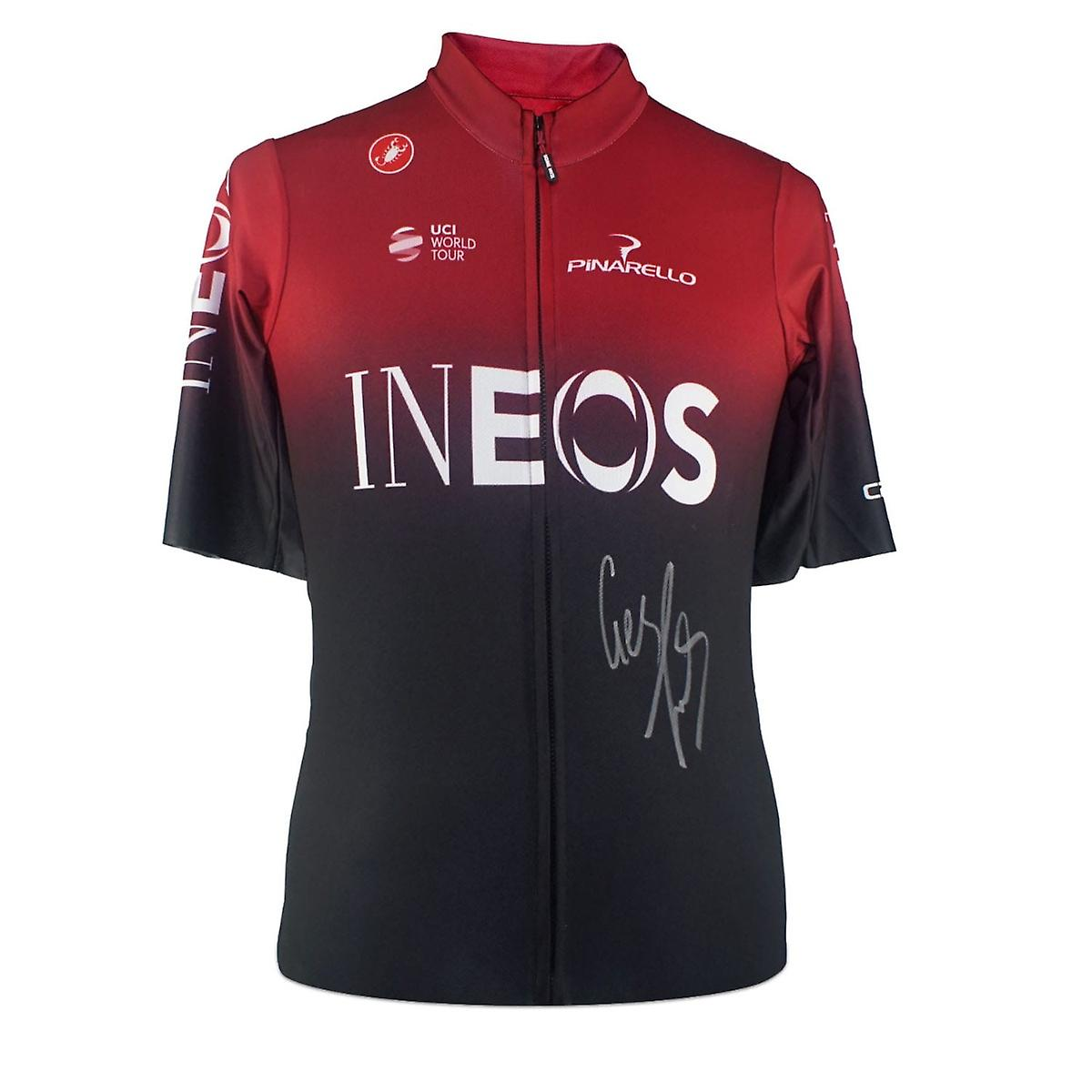 Geraint Thomas Signed Team Ineos 2019 Jersey In Gift Box