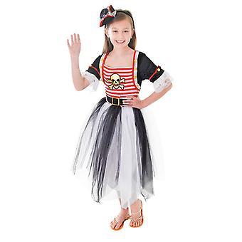 Bnov pirat prinsessa klä + pannband