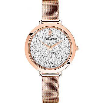 Pierre Lannier 097M908 horloge-Dames dor e Rose stalen horloge