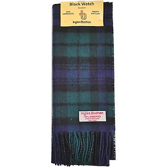 Lambswool Scarf - Black Watch Tartan
