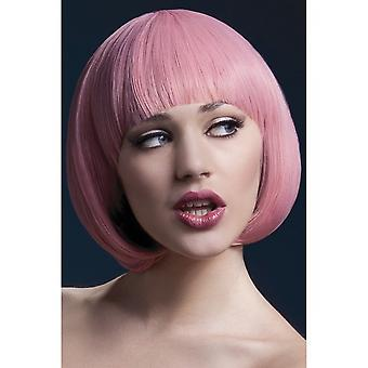 Smiffy's D# Fever Mia Wig - Pastel Pink