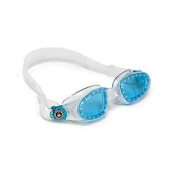 Aqua Sphere Mako Swim Goggle - Blue Lens-Clear/ Aqua Frame Aqua