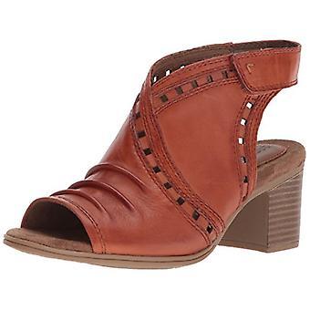 Cobb Hill Women's Hattie Envelope Heeled Sandal, Henna Leather, 5.5 M US