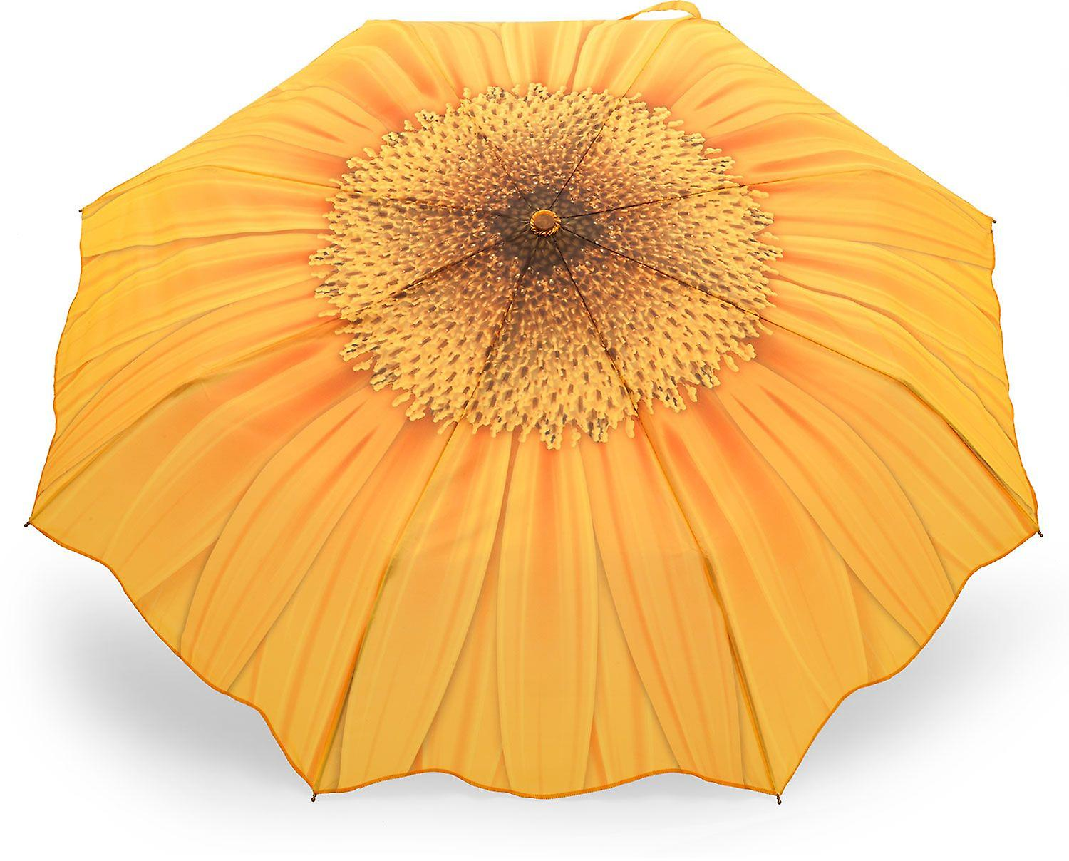 Umbrella automatic Pocket umbrella motif sunflower