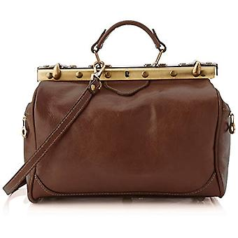 All Fashion Chicca Cbc182000gf22 Unisex Adult Brown Handbag (Moor's Head) 18x18x29 cm (W x H x L)