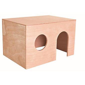 Trixie Wood House (Pienet Lemmikkieläimet häkki tarvikkeet, Maisonnettes ja tunneleissa)