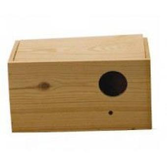 Ninho de agapornis Yagu Horizontal madeira