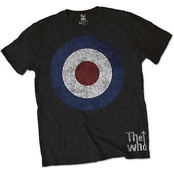 Mens The Who Target Circle Logo Official Tee T-Shirt Unisex