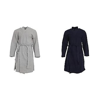 Pierre Roche Mens Waffle Dressing Gown