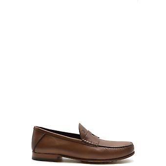 Tod's Ezbc025074 Men's Brown Leather Loafers