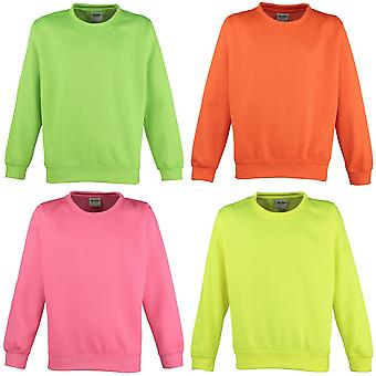 Awdis Childrens Unisex Electric Sweatshirt / Schoolwear